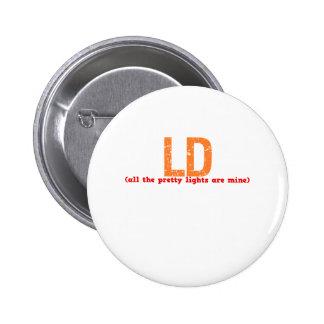 LD Description Pinback Button