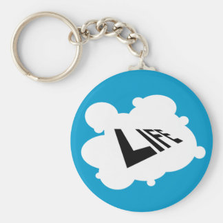LD/MD - Life in Negative Basic Round Button Keychain