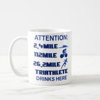 LD triathlete mug