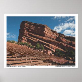 LDC Red Rocks Amphitheatre Poster