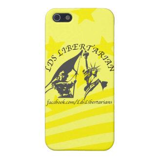 LDS Libertarian iPhone 5 Case, Savvy Matte iPhone 5 Cases