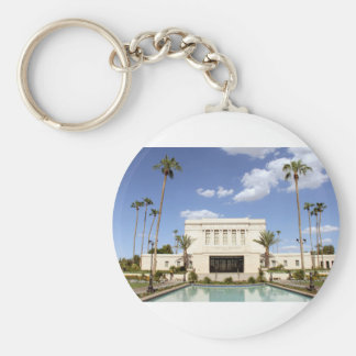 lds mesa arizona temple mormon picture basic round button keychain