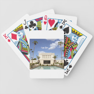 lds mesa arizona temple mormon picture bicycle playing cards