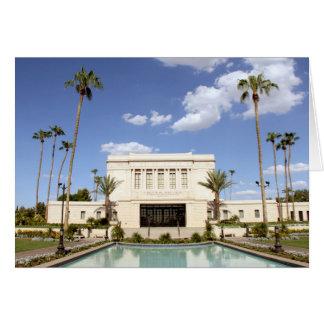 lds mesa arizona temple mormon picture card