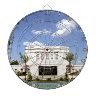 lds mesa arizona temple mormon picture dartboard