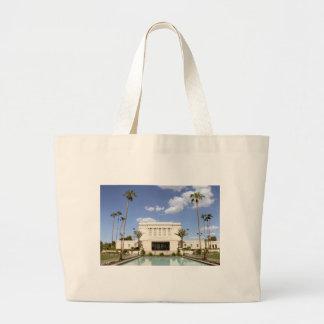 lds mesa arizona temple mormon picture large tote bag