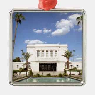 lds mesa arizona temple mormon picture metal ornament