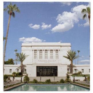 lds mesa arizona temple mormon picture napkins