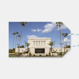 lds mesa arizona temple mormon picture pack of gift tags