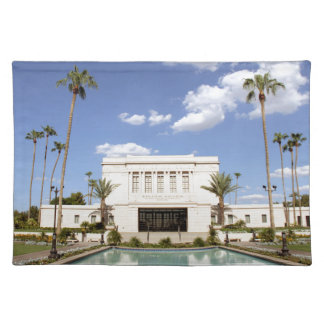 lds mesa arizona temple mormon picture placemat