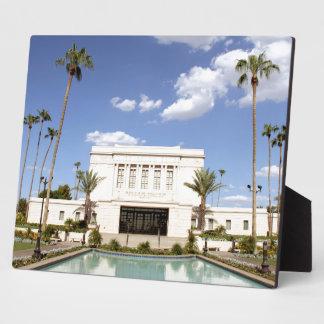 lds mesa arizona temple mormon picture plaque