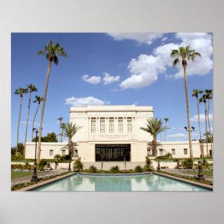 lds mesa arizona temple mormon picture poster