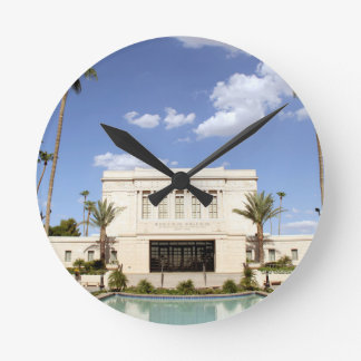 lds mesa arizona temple mormon picture round clock