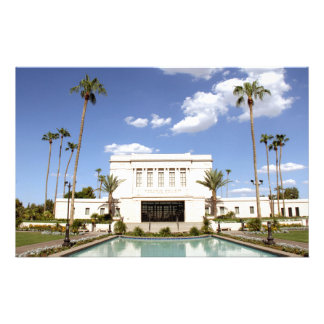 lds mesa arizona temple mormon picture stationery
