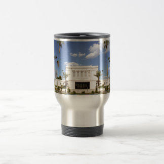 lds mesa arizona temple mormon picture travel mug
