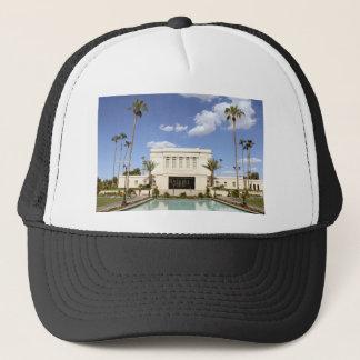 lds mesa arizona temple mormon picture trucker hat