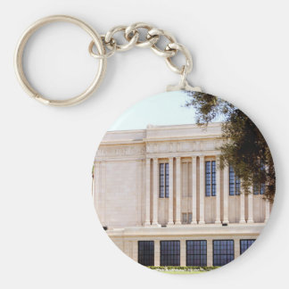 lds mormon mesa arizona temple picture basic round button keychain