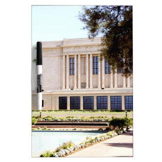 lds mormon mesa arizona temple picture dry erase white board