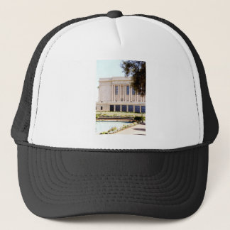 lds mormon mesa arizona temple picture trucker hat