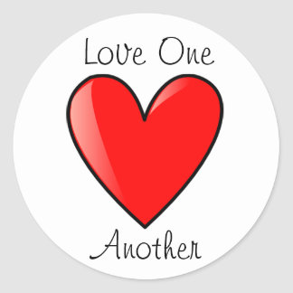 LDS Primary Stickers - Love one Another