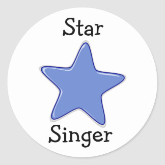 LDS Primary Stickers - Star SInger