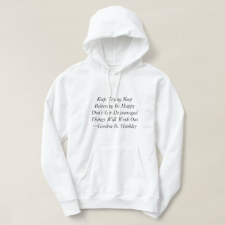 Lds quotes hoodie