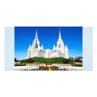 LDS San Diego Temple Horizontal Card