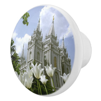 LDS Temple, Salt Lake City Ceramic Knob