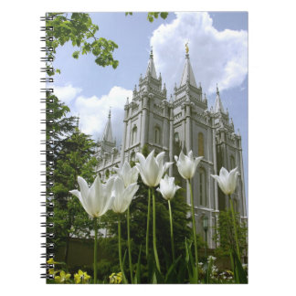 LDS Temple Salt Lake City, Utah Spiral Notebook