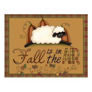"""Le """"automne est carte postale de moutons d'automne"""