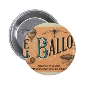 Le Ballon Rédaction et Bureaux 2 Inch Round Button