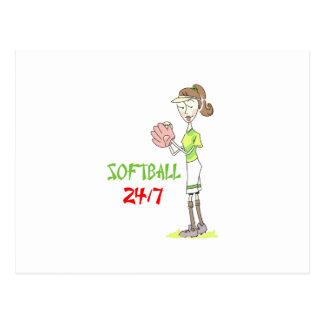Le base-ball 2417 carte postale