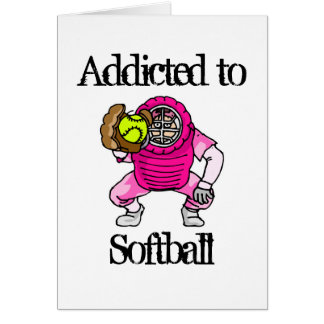 Le base-ball carte de vœux