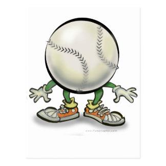 Le base-ball carte postale