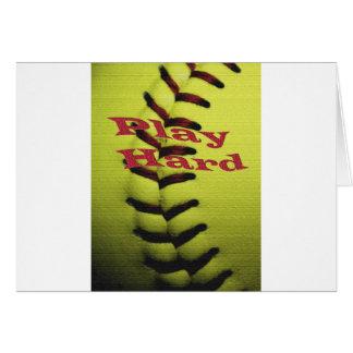 Le base-ball de Har de jeu Cartes
