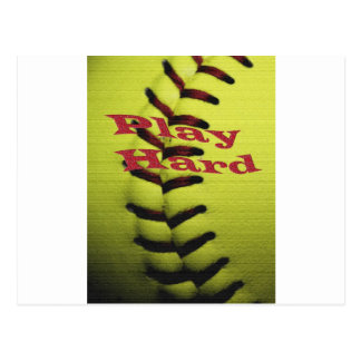 Le base-ball de Har de jeu Carte Postale