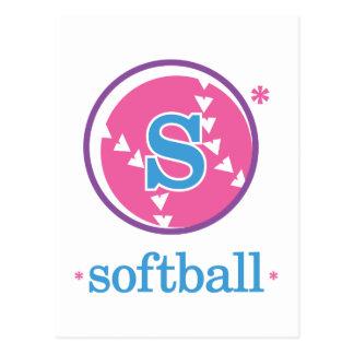 Le base-ball de Nika Cartes Postales