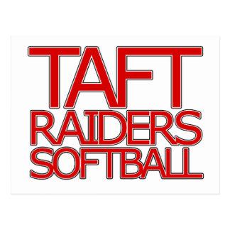 Le base-ball de voleurs de Taft - San Antonio Carte Postale