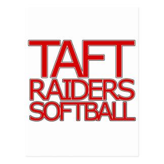Le base-ball de voleurs de Taft - San Antonio Cartes Postales