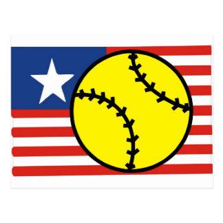 Le base-ball Etats-Unis Cartes Postales