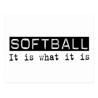 Le base-ball il est carte postale
