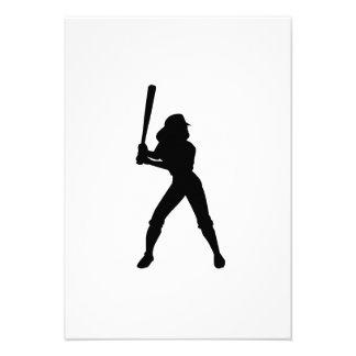 Le base-ball faire-parts