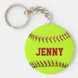 Le base-ball personnalisé Keychain Porte-clés