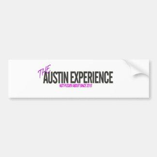 Le bâton de pare-chocs d'expérience d'Austin Autocollant De Voiture