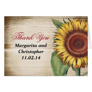 le beau cru de tournesol vous remercient des carte de vœux