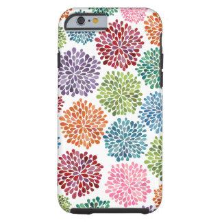 Le beau dahlia fleurit l'iPhone 6