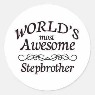 Le beau-frère le plus impressionnant du monde sticker rond