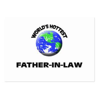 Le beau-père le plus chaud du monde cartes de visite professionnelles