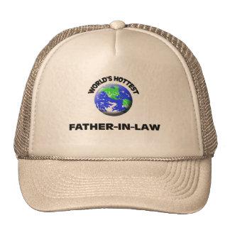 Le beau-père le plus chaud du monde casquette de camionneur