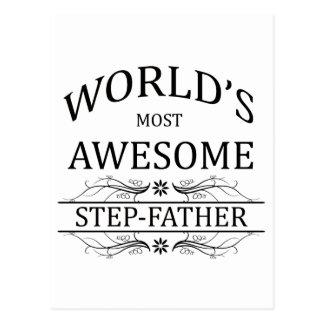 Le beau-père le plus impressionnant du monde carte postale